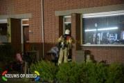 Brandweer blust woningbrand Lange Zantelweg Poortugaal