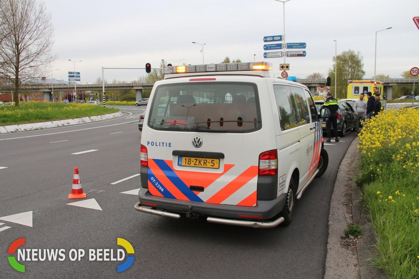 Aanrijding Capelseplein Capelle aan den IJssel