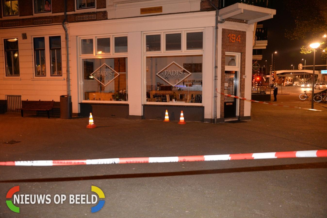 Man gewond bij schietpartij van der Takstraat Rotterdam