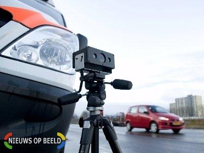 Forse snelheidsovertredingen tijdens controle op Groene Kruisweg tussen Geervliet en Spijkenisse