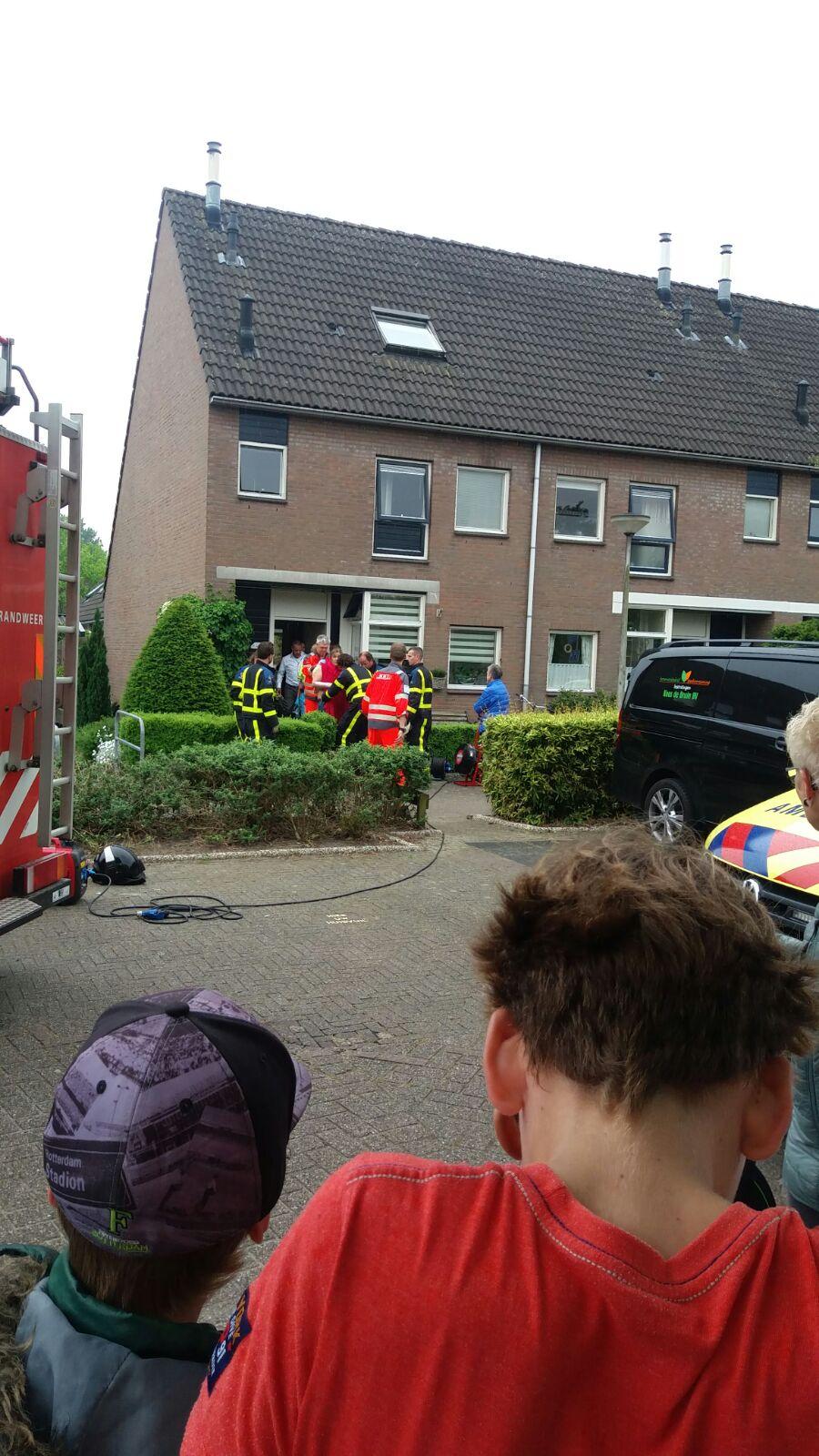 Gewonde na brand in keuken Merelerf Numansdorp