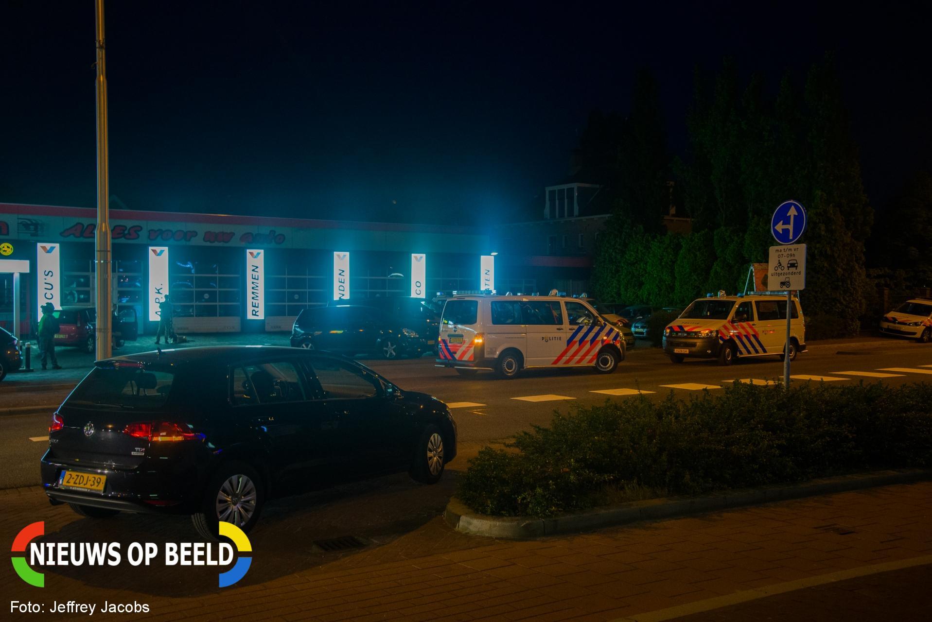 Politie verricht drie aanhoudingen voor mogelijke schietpartij Kanaalweg Capelle aan den IJssel