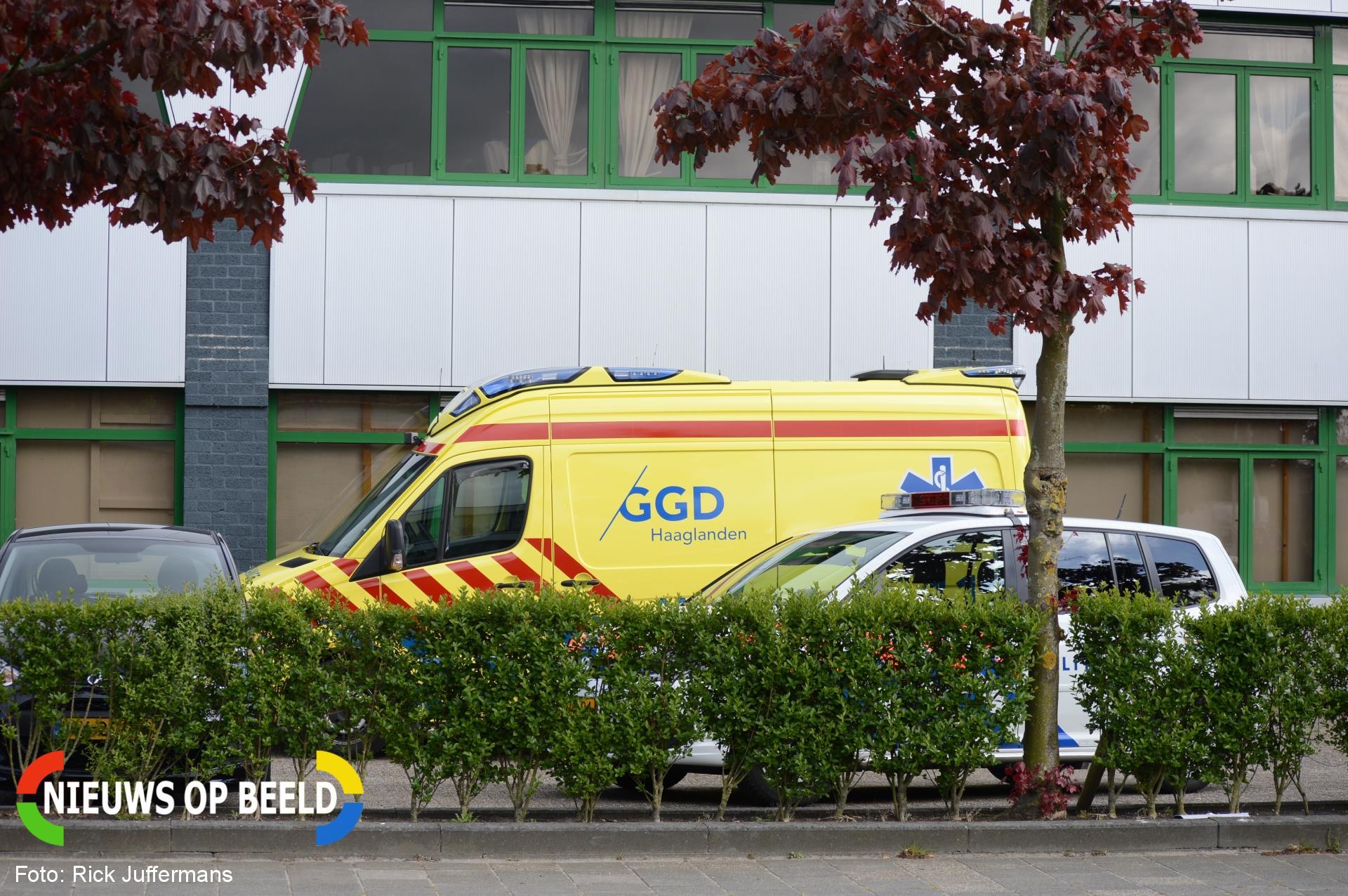 Ongeval in kartbaan Wattstraat Zoetermeer
