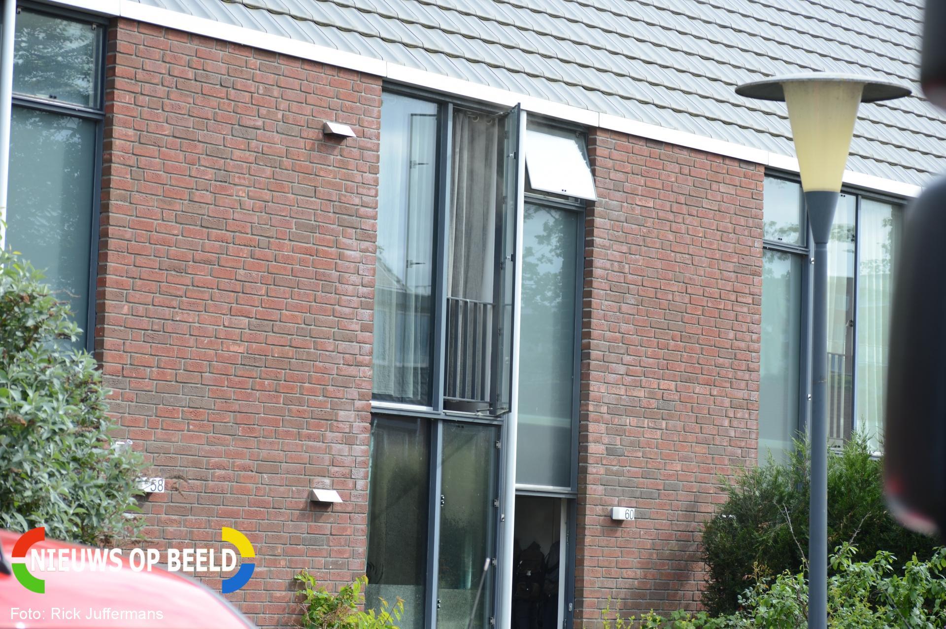 Brand in keuken van woning Pernisstraat Zoetermeer