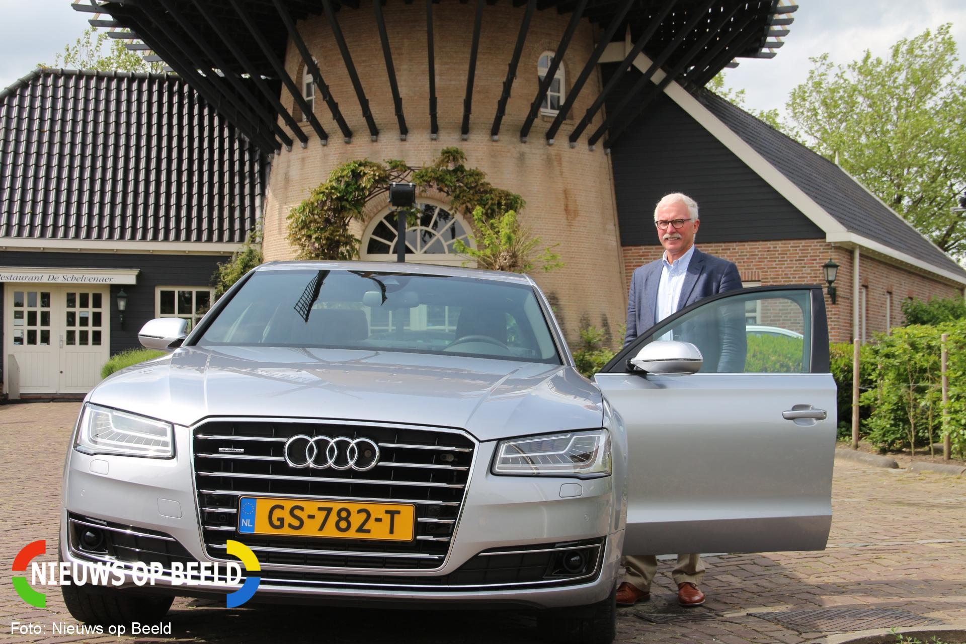 Afscheid wijkagent Gijs Rink Albert Schweitzerlaan Krimpen aan den IJssel