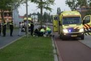 Motorrijder verliest onderbeen na éénzijdig ongeval Pascalweg Rotterdam