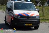 Auto schept man op zebrapad West-Kruiskade Rotterdam