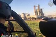 Opslagtank met Methanol in brand Merwedeweg Rotterdam