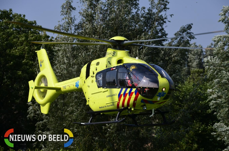 Ernstig gewonden bij ongeval Dwarshaak Hoek van Holland