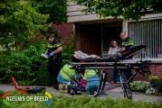 Persoon gewond na val van balkon Waalstraat Poortugaal
