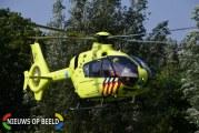 Zwaargewonde fietser (16) met traumahelikopter naar het ziekenhuis gebracht Noorddijk Melissant.