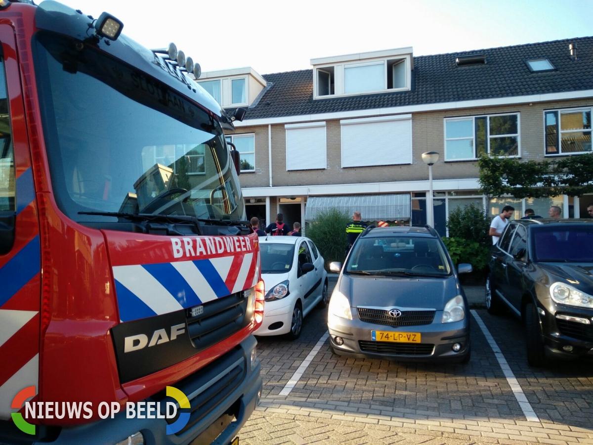 Kleine brand in woning Couperinstraat Capelle aan den IJssel