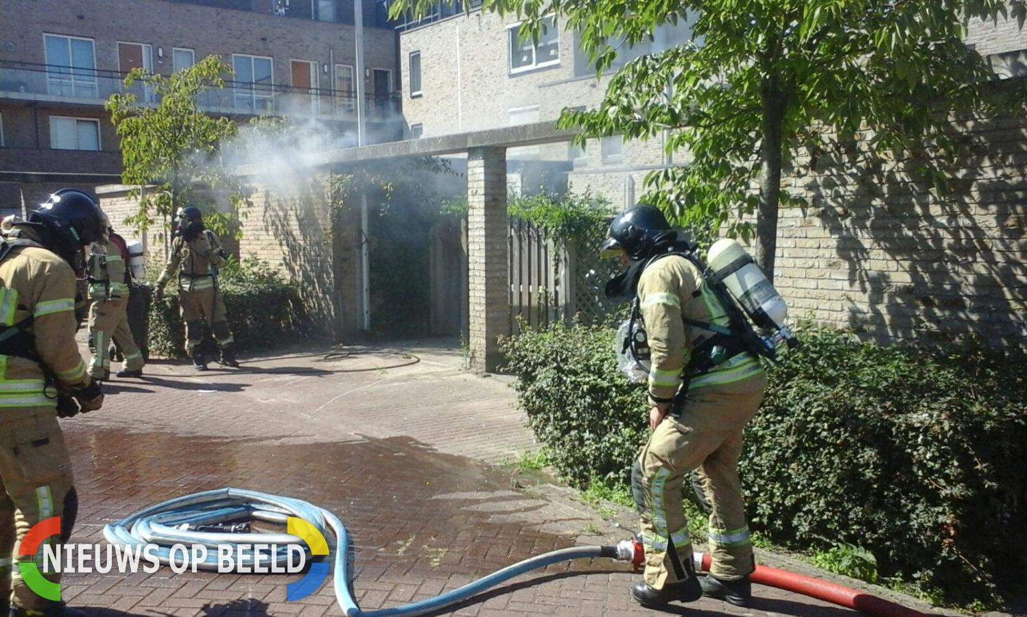 Brand in schuur Oostmeerlaan Berkel en Rodenrijs