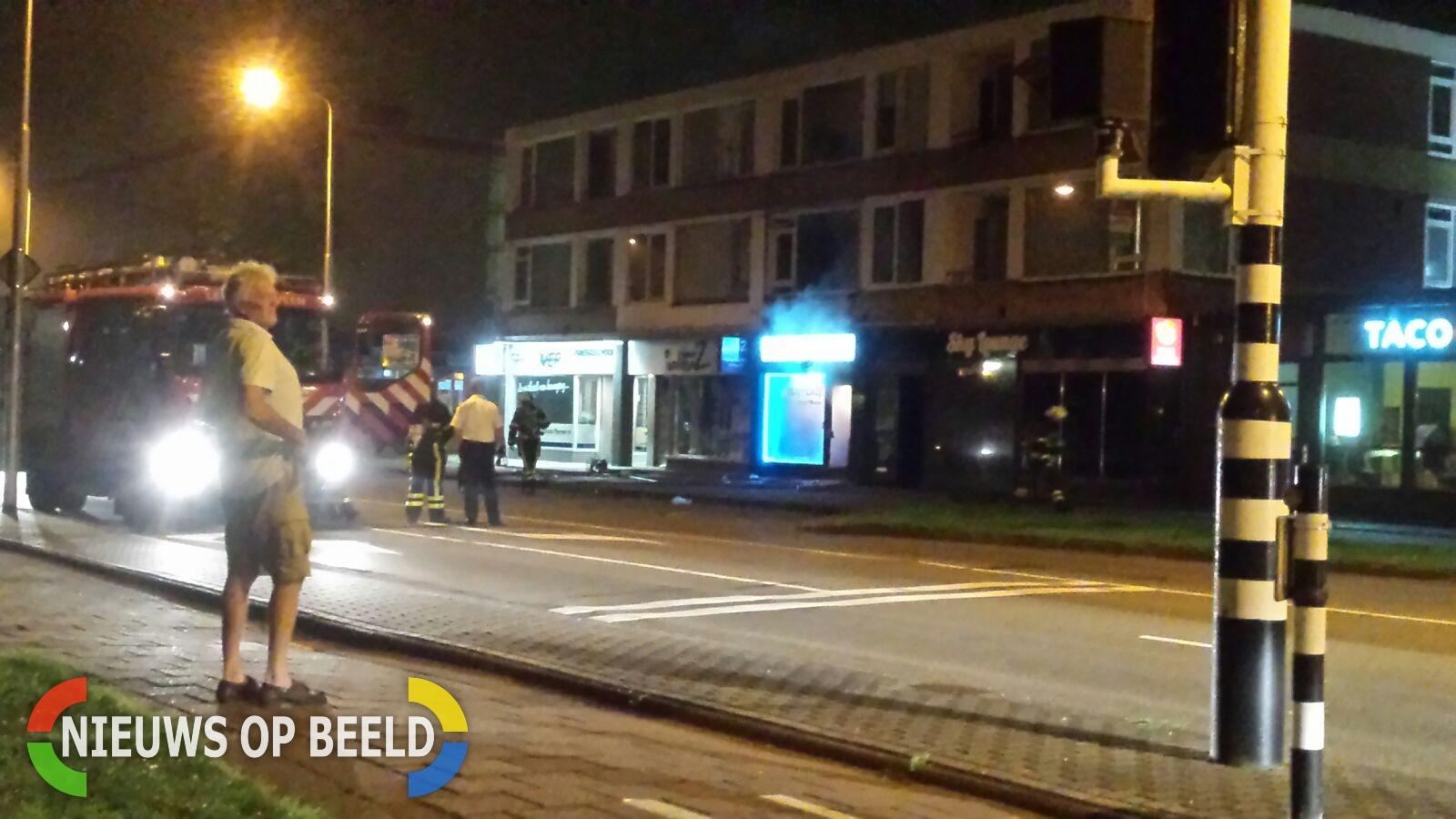 Gewonden na uitslaande brand in waterpijpcafé Shisha Lounge Oranjelaan Zoetermeer
