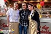 André Hazes Jr opent oliebollenkraam seizoen Stationstraat Rhoon