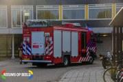 Brandweer onderzoekt brand in TBS kliniek Kijvelandsekade Poortugaal