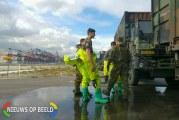 Defensie oefent terreur in Rotterdamse Haven