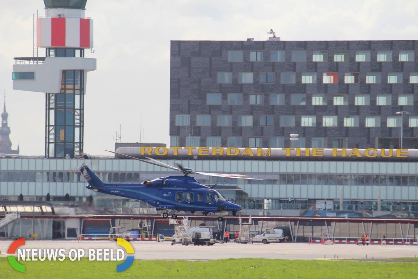 Marechaussees vinden vuurwapen tijdens controle Rotterdam The Hague Airport