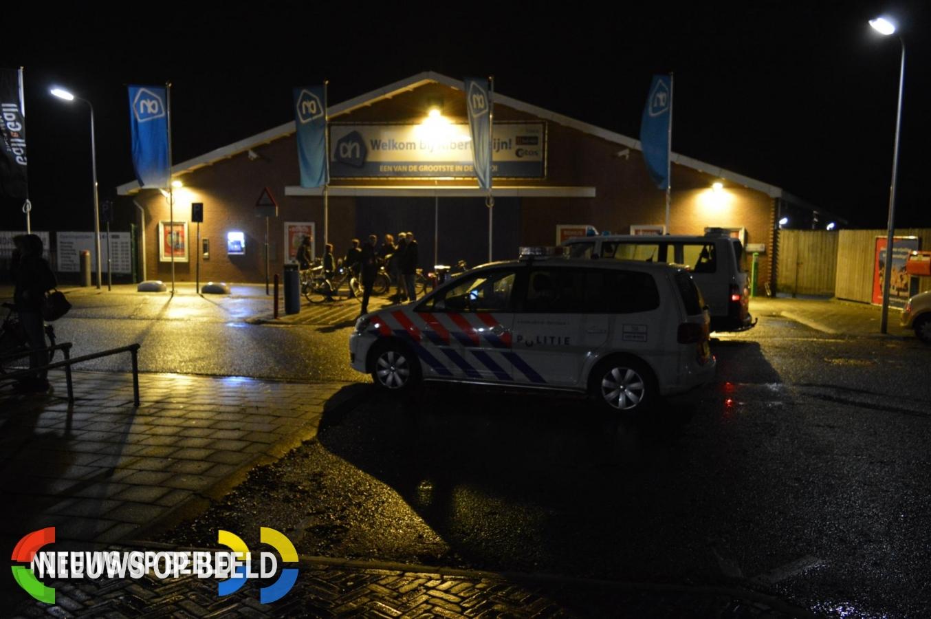 Overval op Albert Heijn Toldam Heenvliet