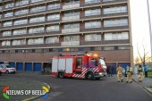 Stank van benzine in flatgebouw Reviusrondeel Capelle aan den IJssel
