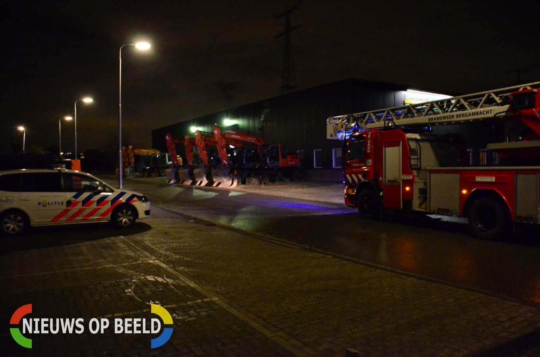 Brand in smeerput bij grondverzetbedrijf Zijdepark Ouderkerk aan den IJssel