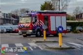 Brandweer onderzoekt gaslekkage na graafwerkzaamheden Rijsdijk Rhoon