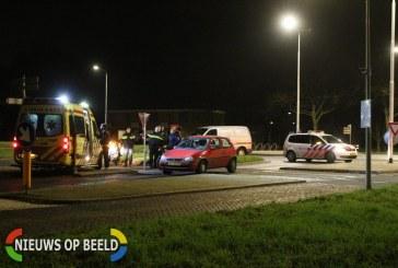 Brommerrijder gewond na botsing met personenauto Brahmslaan Leiden