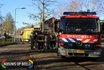 Brandweer knipt kindervoet uit spaken Condorhorst Leiden