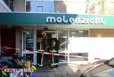 Brandweer doet onderzoek naar gaslucht Molenzicht Leiden
