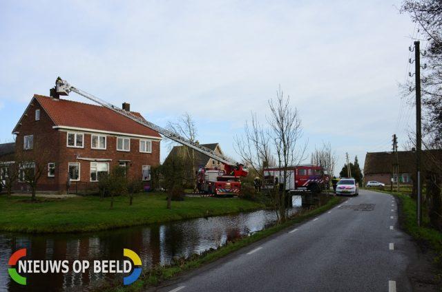 Brandweer rukt uit voor oververhitte kap van schoorsteen Tussenlanen ... - Nieuws op Beeld