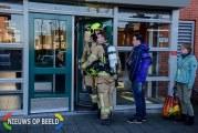 Alerte buurman belt brandweer na rook uit woning Jan van Almondestraat Poortugaal