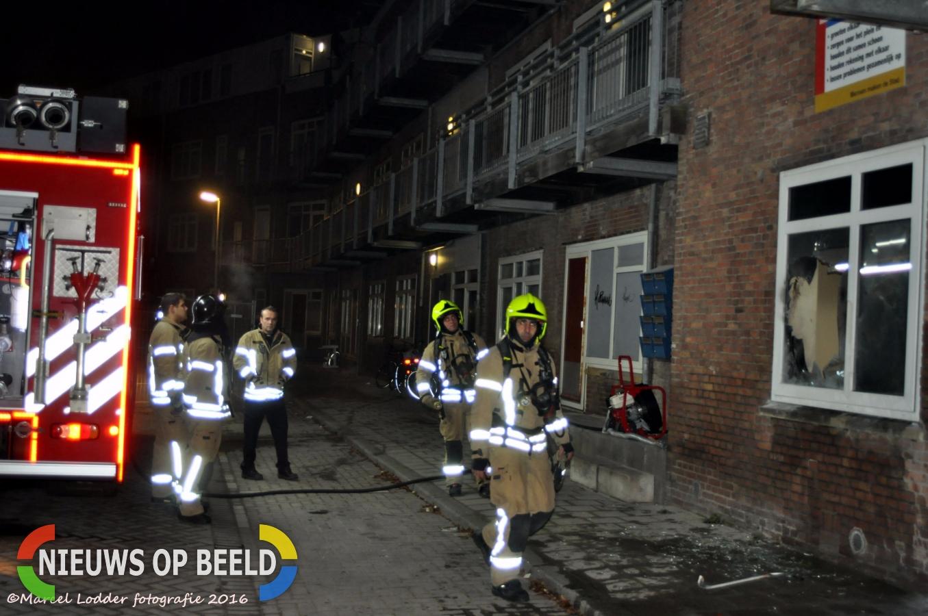 Brandmelding Staringplein Rotterdam Spangen
