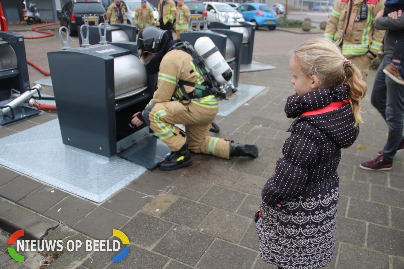 Ondergrondse containerbrand Kalmanstraat Leharstraat Capelle aan den IJssel