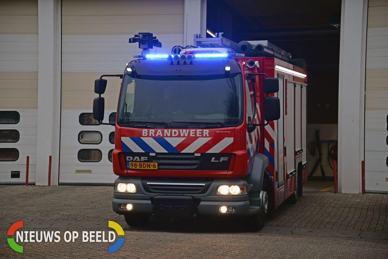 Problemen met nieuwe blusvoertuigen Brandweer Rotterdam-Rijnmond