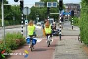 Veilig leren fietsen naar school doe je in het verkeer! Verkeersexamen basisscholen in Rotterdam
