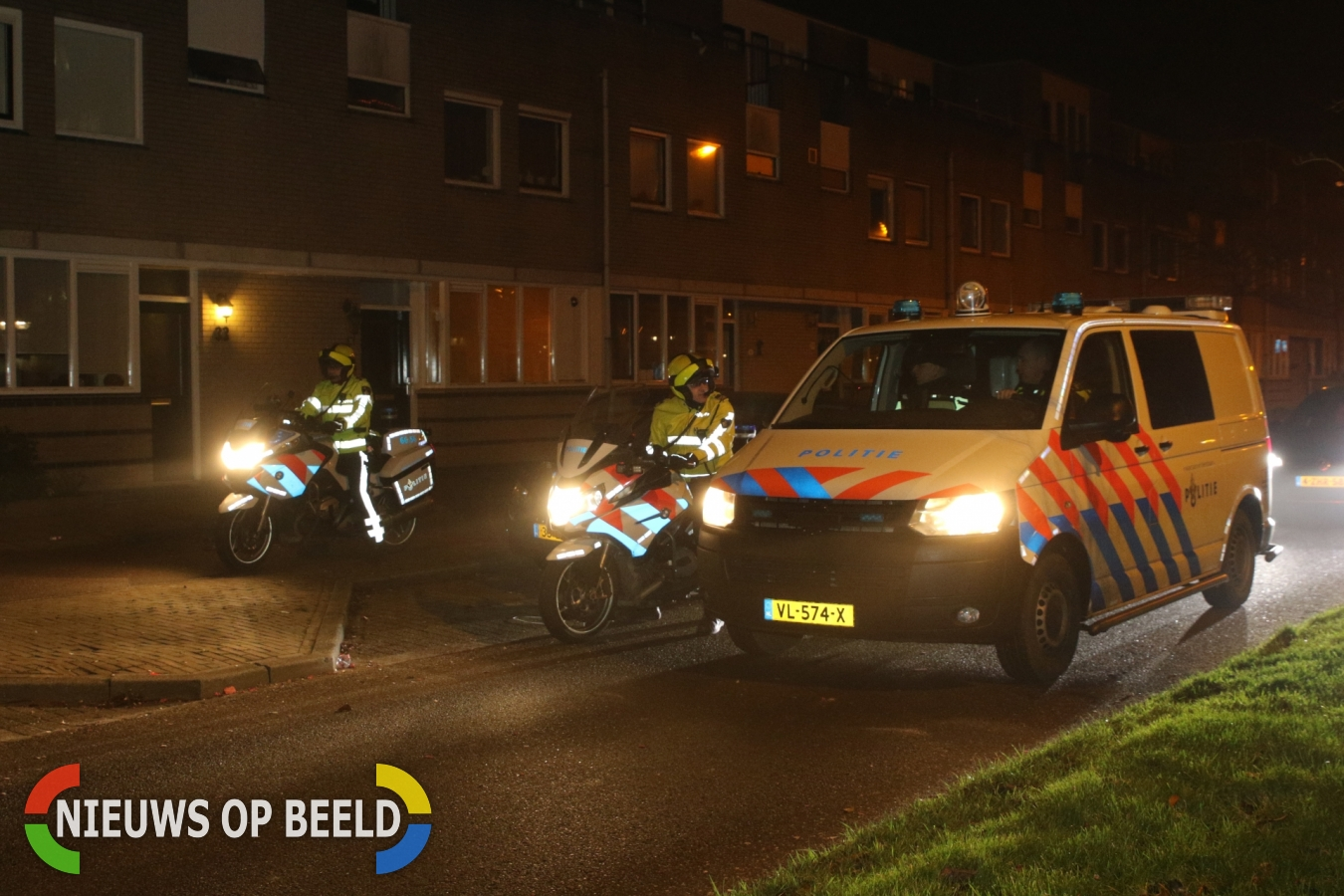 Verdachte na massale zoekactie aangehouden Etta Palmstraat Leiden