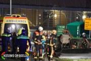 Man overleden bij rioolwerkzaamheden De Schans Alphen aan den Rijn