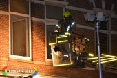Flinke rookontwikkeling bij brand in woning Bergweg Rotterdam