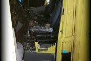 Lafaard gooit ruit ambulance in voor diefstal Schinnenbaan Rotterdam