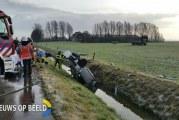 Man (59) overleden na ongeval Hoekseweg Strijen