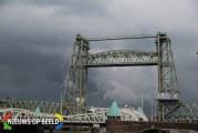 Historische spoorbrug De Hef weer compleet met terugkomst middendeel