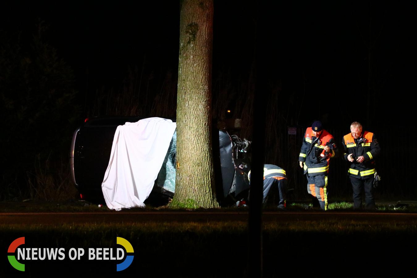 Dode en gewonde na ernstig ongeluk Tweede Bloksweg Waddinxveen
