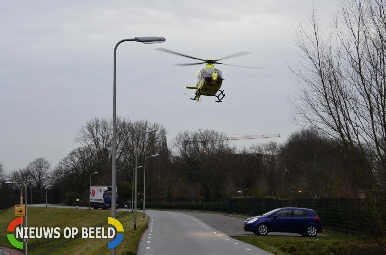 Fietser zwaargewond na aanrijding met auto Sportlaan Gouda