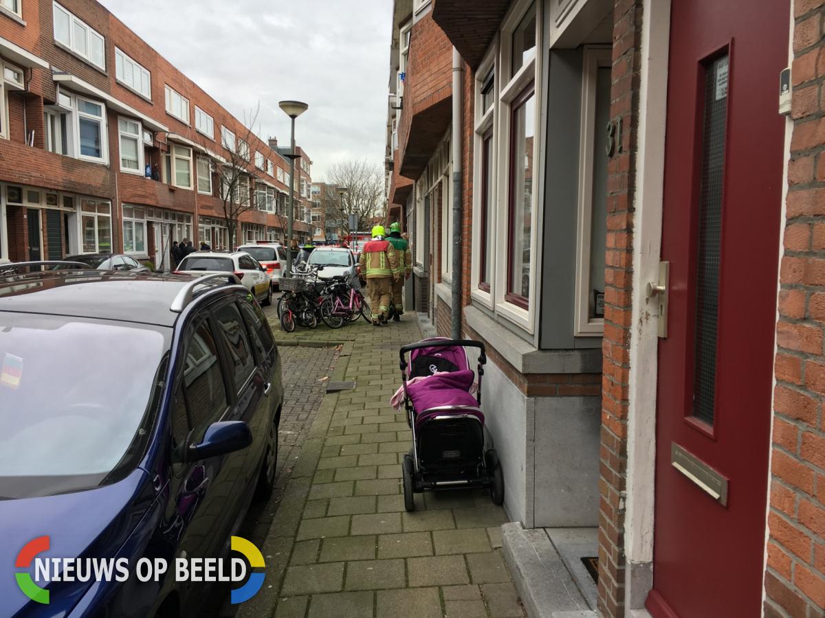 Meerdere woningen ontruimd na gaslek Halleystraat Schiedam