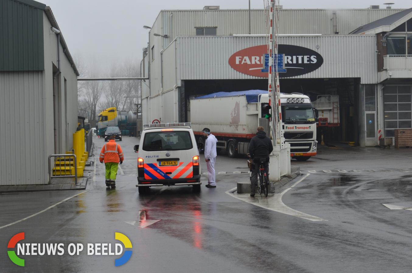 Brand bij patatfabriek Molendijk Oudenhoorn