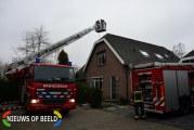 Brandweer rukt uit voor schoorsteenbrand Oosterhoef Bergambacht