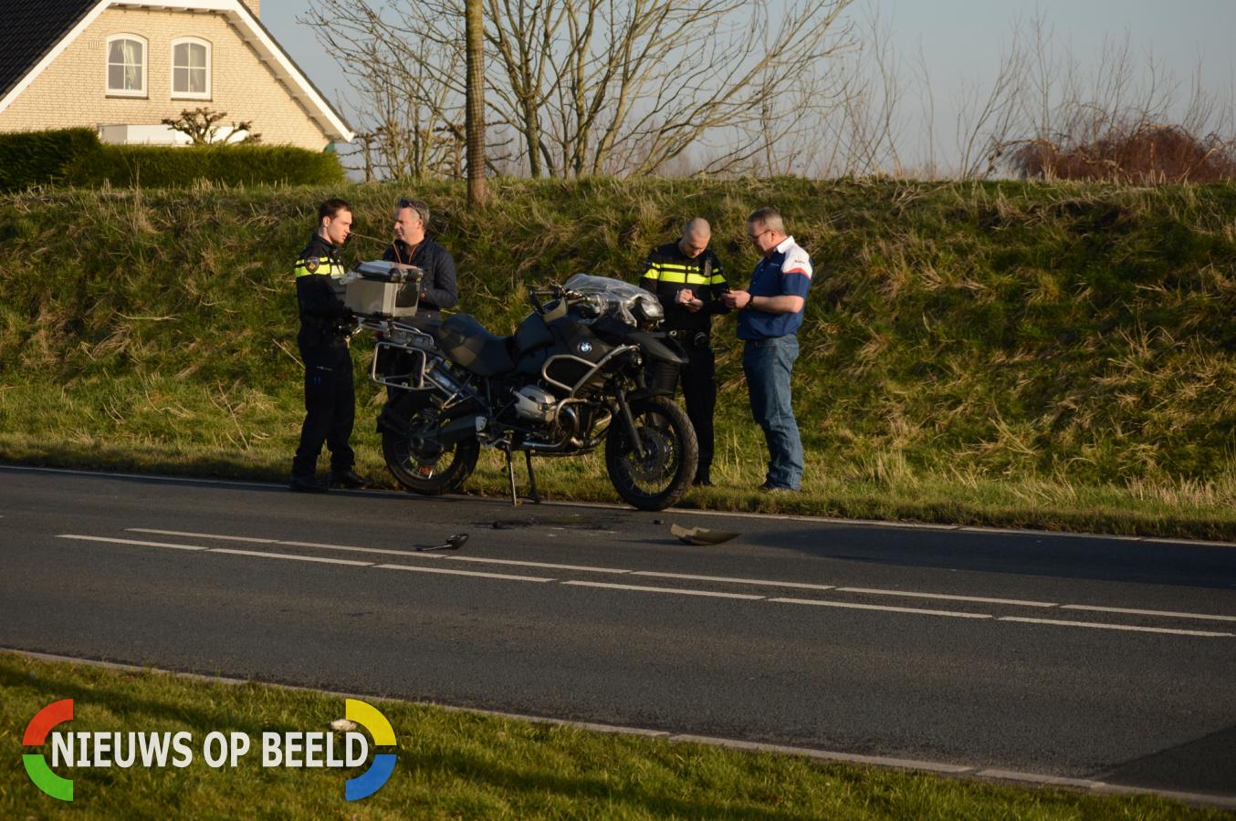 Motorrijder raakt gewond bij ongeval Molenaar Blonkweg Nootdorp