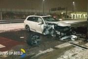 Gecrashte Audi Q7-rijder voor 10e keer gesnapt zonder rijbewijs Wilhelminaplein Rotterdam