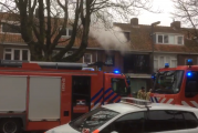 Felle brand in woning Burgemeester Le Fevre de Montignylaan Rotterdam