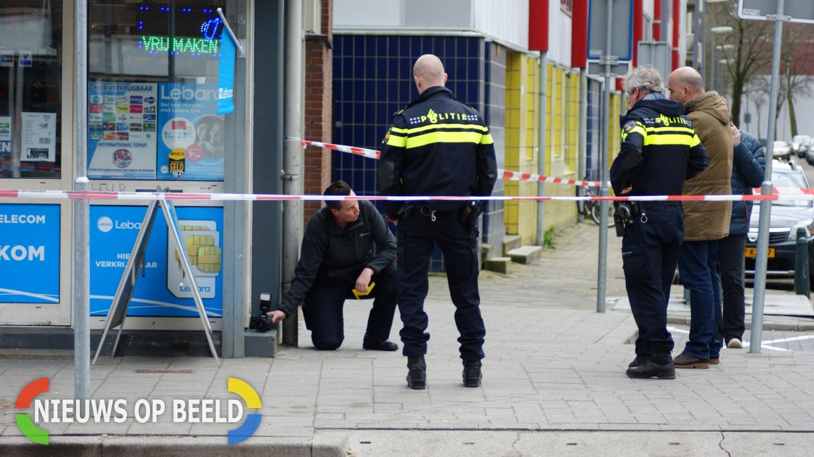 Politie onderzoekt mogelijke schietpartij Goudse Rijweg Rotterdam